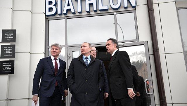 Путин уверен в востребованности объектов, построенных к Универсиаде-2019
