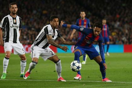 «Ювентус» выбил «Барселону» из Лиги чемпионов