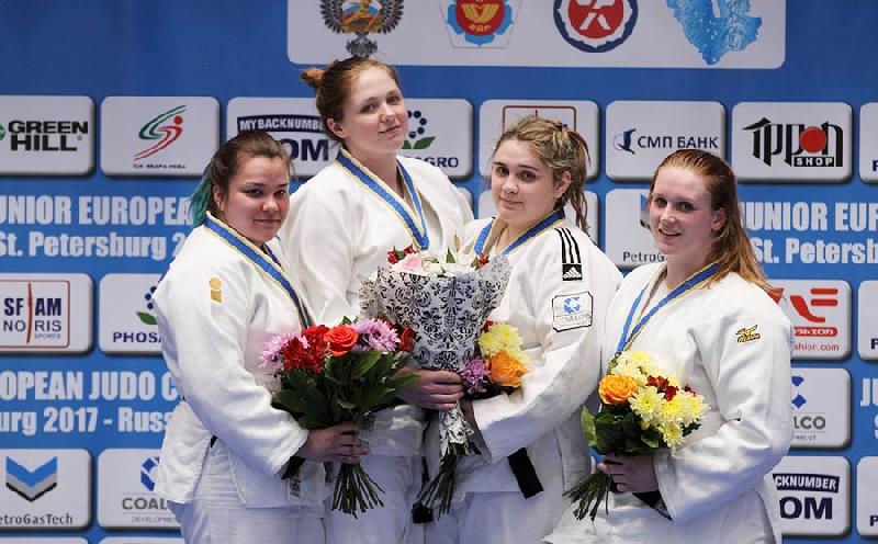 Студентка смоленского училища олимпийского резерва завоевала победу на Кубке Европы по дзюдо среди юниоров