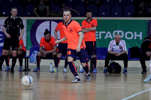 Смоленский «Автодор» уступил «Ямалу» в полуфинальном матче Высшей лиги