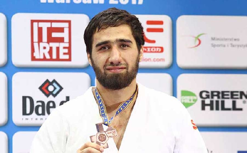 Студент смоленского училища олимпийского резерва стал бронзовым призером чемпионата Европы по дзюдо