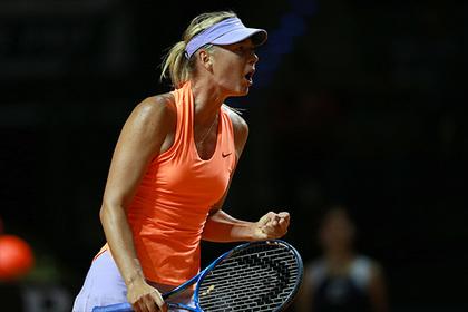 Шарапова обыграла Макарову во втором круге турнира в Штутгарте