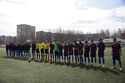 Юные смоленские футболисты стартовали в Первенстве России