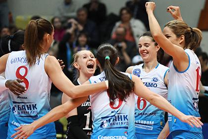 Российские волейболистки выиграли юниорский чемпионат Европы