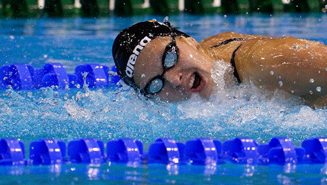 Сборная Москвы выиграла еще пять медалей на чемпионате России по плаванию