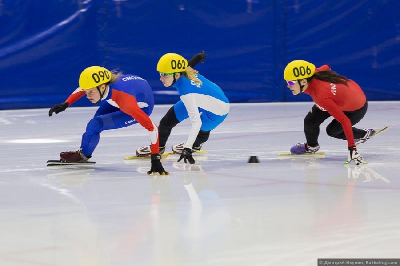 Смоляне остались без наград чемпионата России по шорт-треку