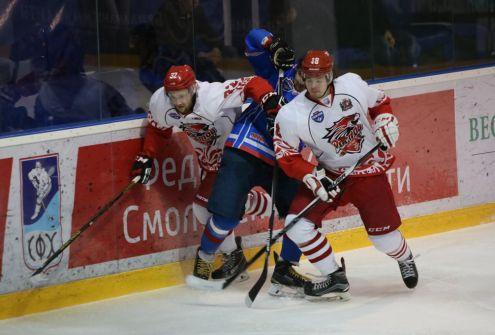 Смоленский «Славутич» потерпел третье поражение в финальной серии
