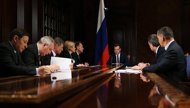 Медведев подписал постановление по требованиям безопасности на ЧМ-2018