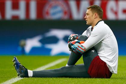 Вратарь «Баварии» Нойер сломал ногу в матче с «Реалом»
