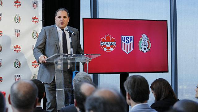 Канада, США и Мексика подали совместную заявку на ЧМ-2026 по футболу
