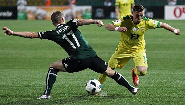 «Краснодар» и «Анжи» сыграли вничью в матче чемпионата России по футболу