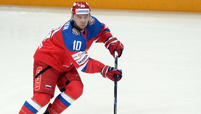 Капитаном российской сборной по хоккею на ЧМ-2017 будет Сергей Мозякин