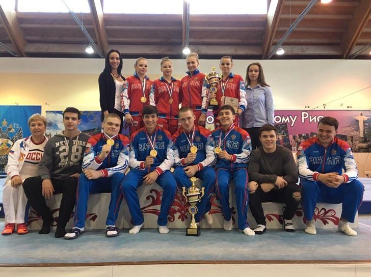 Смоляне выиграли Всероссийские соревнования по спортивной гимнастике