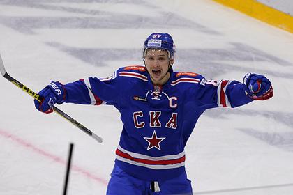 Форвард СКА Шипачев уедет в НХЛ