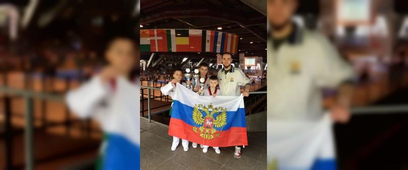 Смоленские тхэквондисты привезли медали из Берлина
