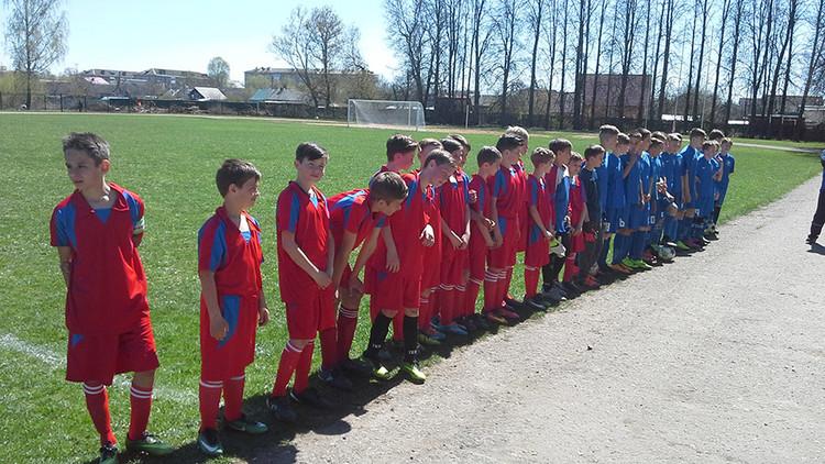 В Починке стартовал детский футбольный турнир
