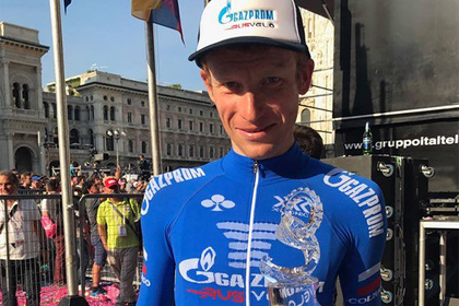 Россиянин Брутт признан самым активным гонщиком многодневки «Джиро д'Италия»