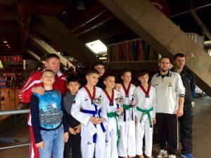 Смоляне выиграли четыре медали на международном турнире по тхэквондо