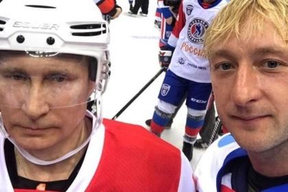 Плющенко назвал Путина самым спортивным президентом мира