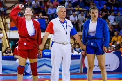 Женская и мужская сборные России победили на ЧЕ по самбо в Минске