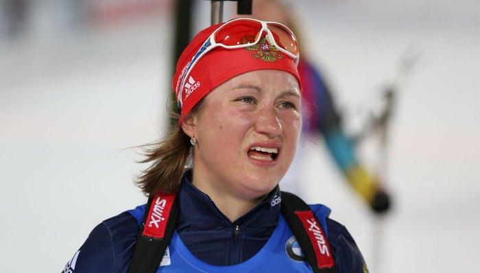 Подчуфарова не вошла в список российских биатлонистов, включенных в международный пул тестирования