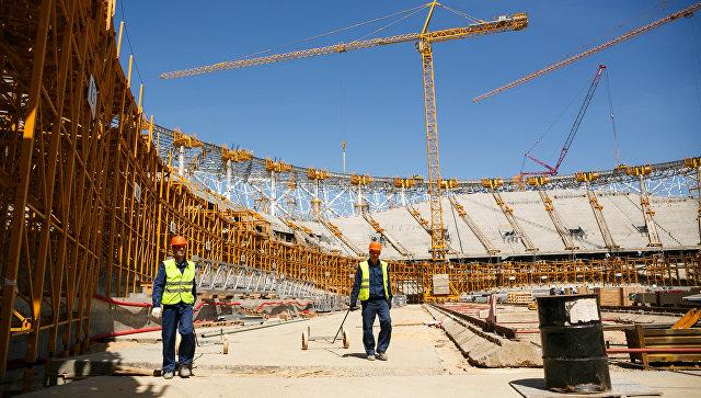 Строящиеся к ЧМ-2018 стадионы прошли госэкспертизу на 99%