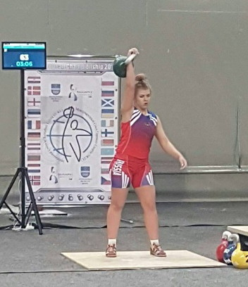 Смолянка выиграла Чемпионат Европы по гиревому спорту