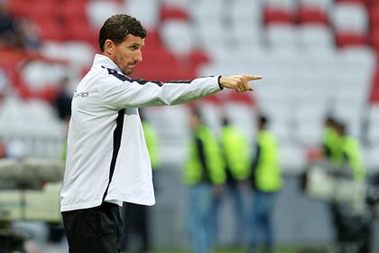 «Рубин» расторг контракт с испанским тренером