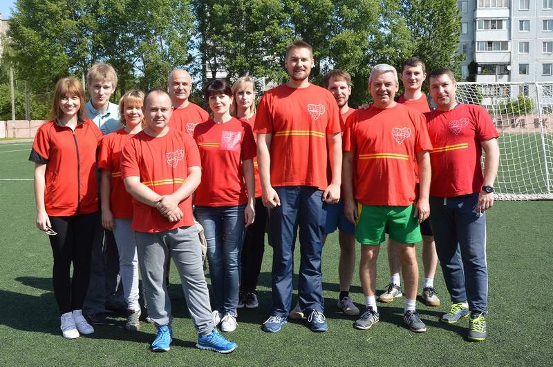 В Смоленске прошел фестиваль спорта среди сотрудников органов исполнительной власти