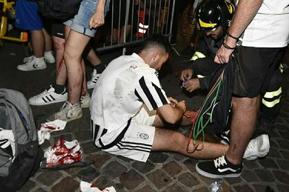 Вызвавшие давку в Турине подростки признали неуместной свою шутку о теракте