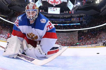 Россиянина Бобровского признали лучшим вратарем НХЛ сезона-2016/17