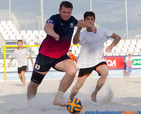 В Смоленске пройдет первый этап Суперлиги по пляжному футболу