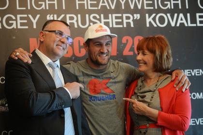 Промоутер Ковалева рассказала о дальнейшей карьере боксера