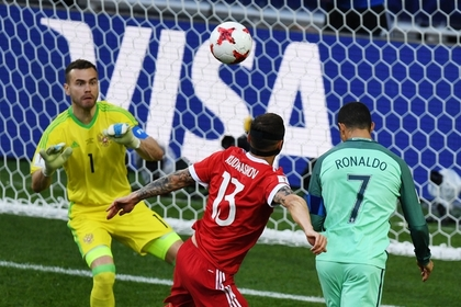 Акинфеев взял на себя вину за пропущенный от Роналду мяч в матче с португальцами