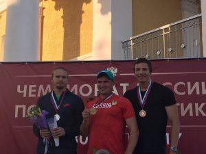 Смоленский копьеметатель выиграл «бронзу» чемпионата России