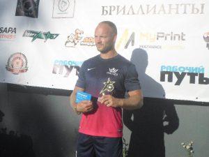 В Смоленске определили лучший гол второго этапа Суперлиги по пляжному футболу
