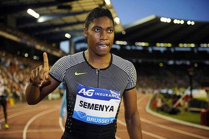 Олимпийскую чемпионку Семеню заставят лечиться из-за повышенного тестостерона