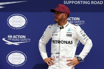 Хэмилтон выиграл домашний Гран-при «Формулы-1»