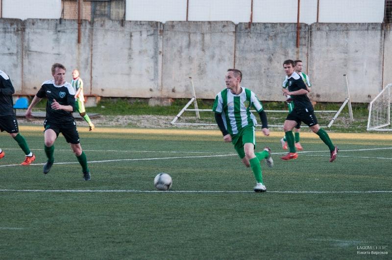 Лидер чемпионата Смоленской области по футболу потерпел первое поражение