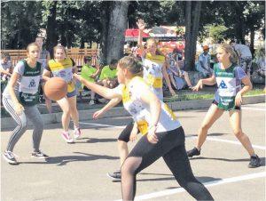 Вязьма присоединилась к баскетбольному марафону