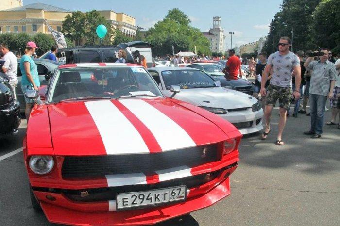 «Maxidrivefest» прошел в Смоленске