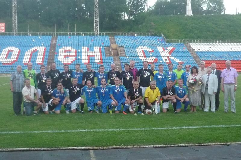 В Смоленске прошел футбольный матч памяти Леонида Теплякова