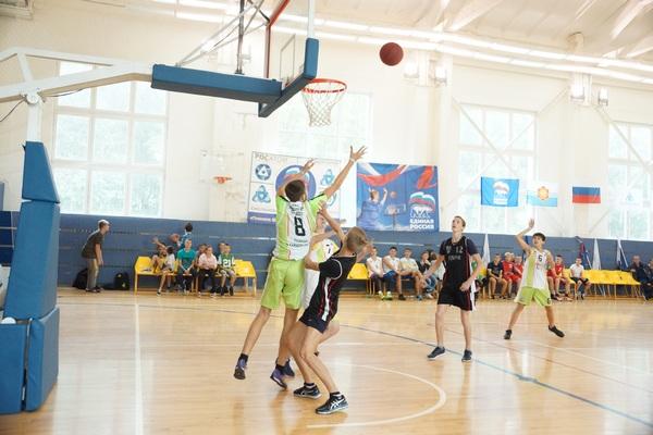 В Десногорске завершился «Баскетбольный марафон»