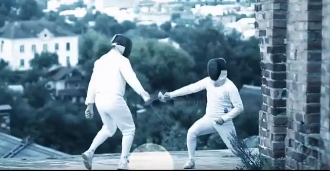 Спортсмены сняли на видео тренировки на фоне достопримечательностей Смоленска