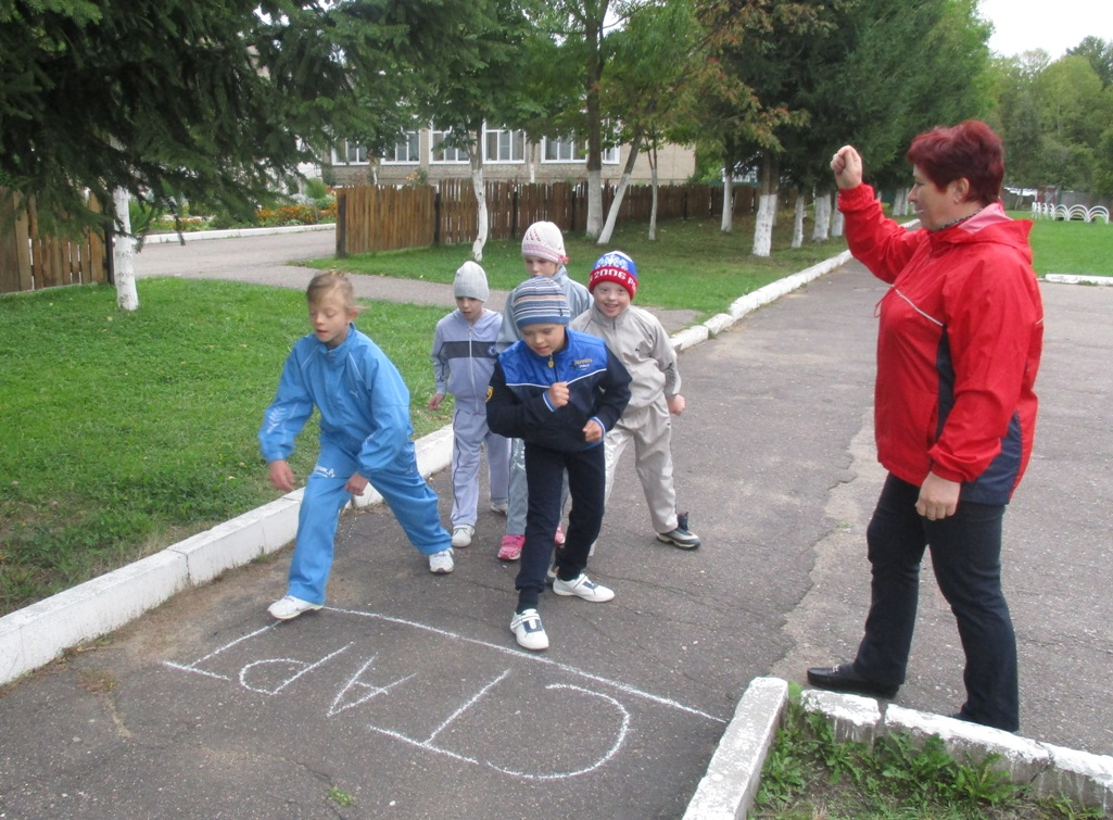 «День бегуна» в Ново-Никольском детском доме.