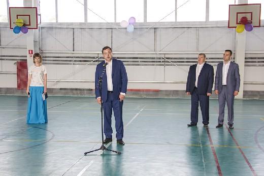 Новый ФОК открыли в Темкино Смоленской области
