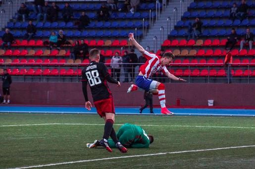ЦРФСО принимает футбольный клуб «Знамя труда»
