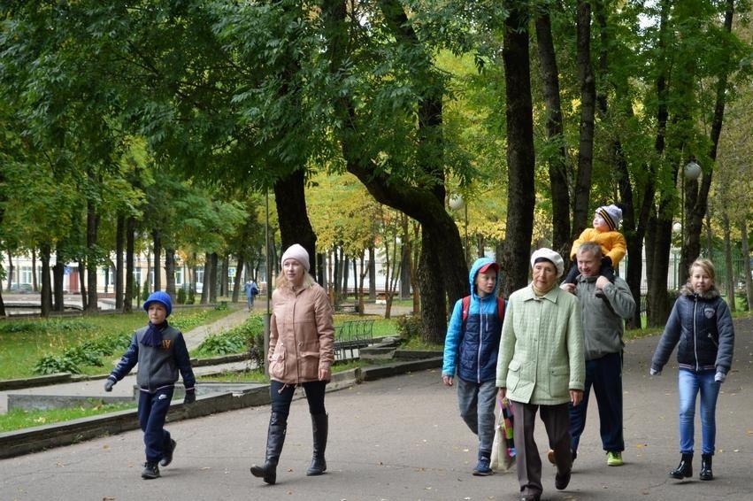 Полуторагодовалый смолянин получил приз за участие во Всероссийском дне ходьбы