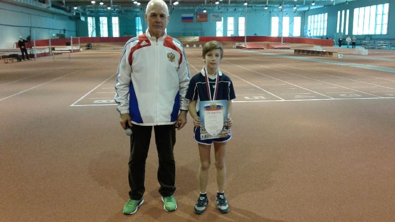 Смоленский легкоатлет стал вторым на соревнованиях в Адлере