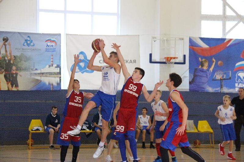 В Десногорске прошел баскетбольный турнир «Золотая осень»